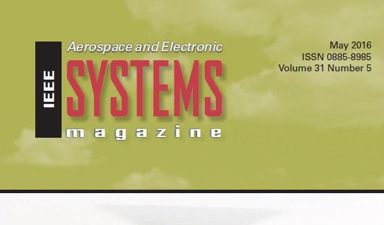 مجله سیستم های الکترونیک هوایی IEEE می 2016