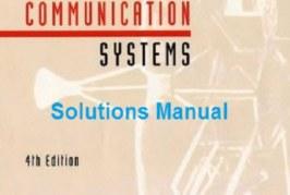 حل المسائل سیستمهای مخابراتی Haykin ویراست چهارم