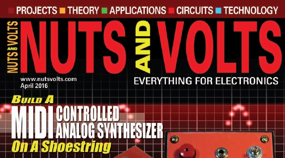 مجله Nuts and Volts آوریل 2016