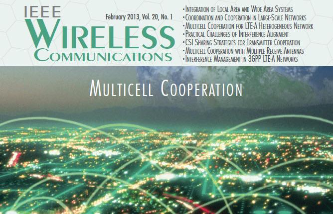 مجله وایرلس IEEE سال 2013 شماره اول