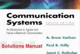 حل المسائل سیستمهای مخابراتی کارلسون ویراست چهارم