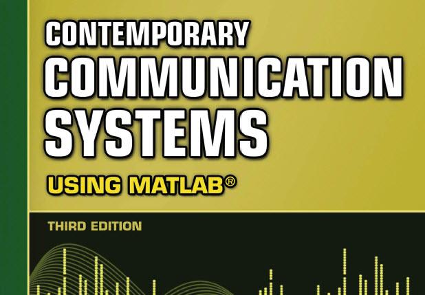 سیستمهای مخابرات معاصر با استفاده از Matlab ویرایش سوم