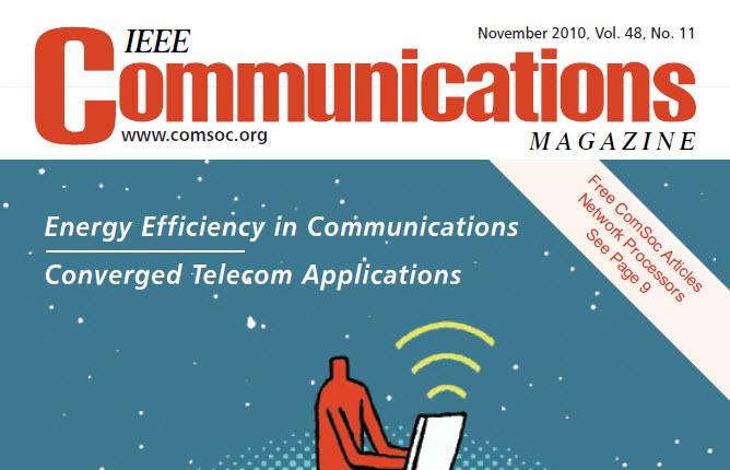 مجله IEEE Communications نوامبر ۲۰۱۰