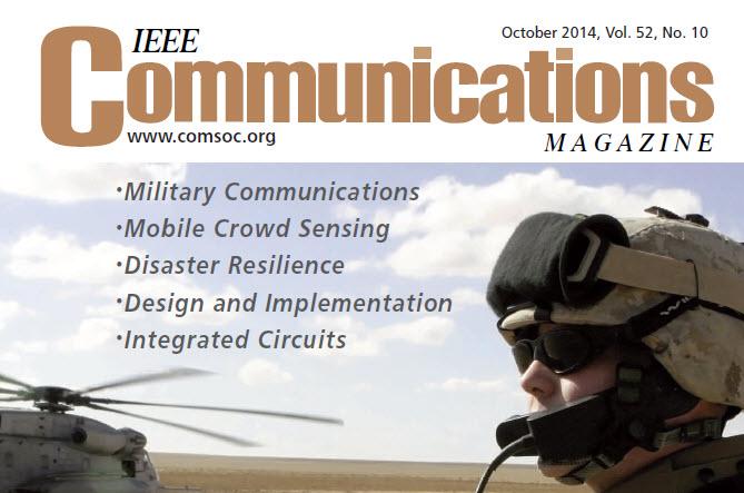 مجله مخابرات IEEE اکتبر 2014
