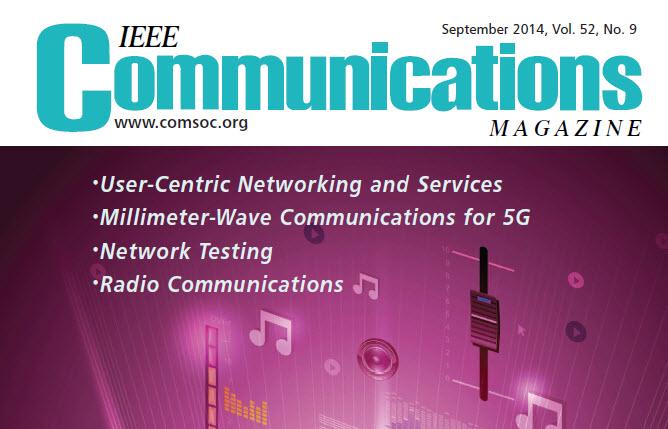 مجله مخابرات IEEE سپتامبر 2014