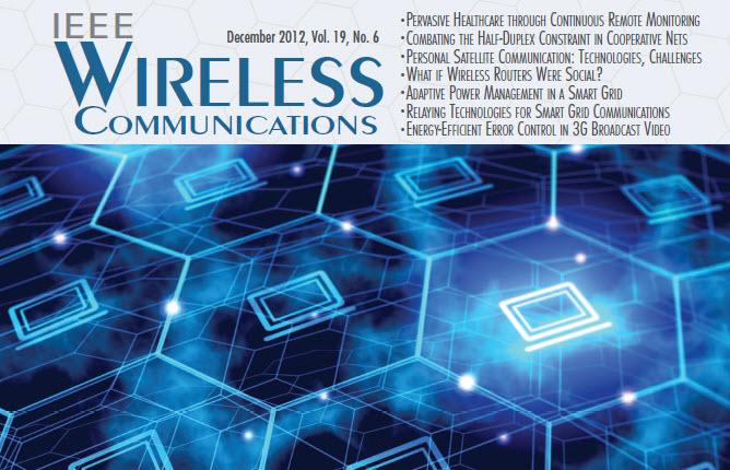 مجله وایرلس IEEE سال 2012 شماره ششم
