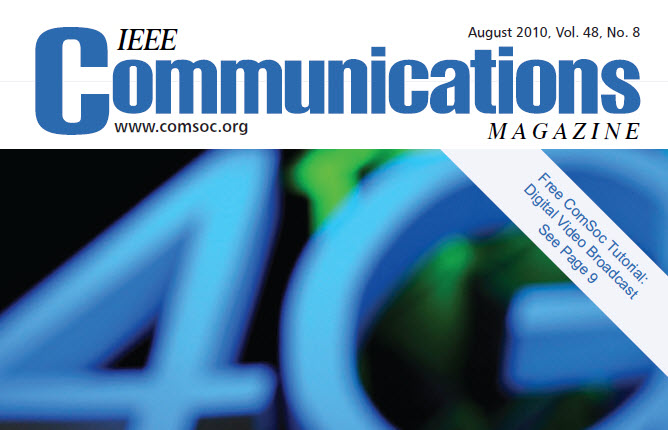 مجله IEEE Communications آگوست 2010