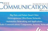 مجله مخابرات IEEE دسامبر 2017