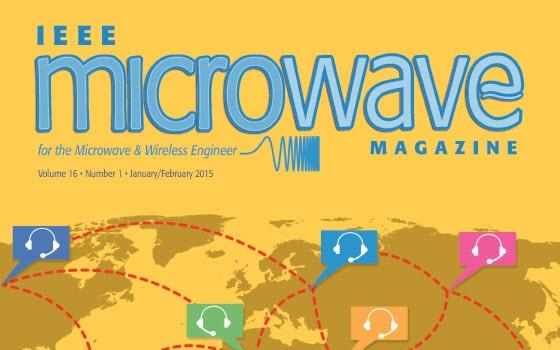 مجله مایکرویوو IEEE سال ۲۰۱۵ شماره اول