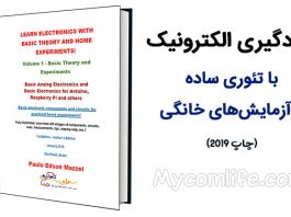 دانلود کتاب LEARN ELECTRONICS WITH BASIC THEORY AND HOME EXPERIMENTS